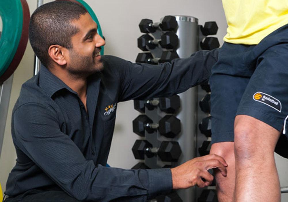 Sports Physio Treatment Knee