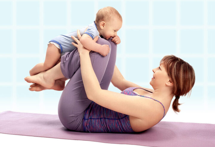 to crunch or not to crunch after having a baby